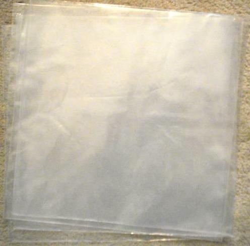 """Plastic 7"""" Sleeves"""