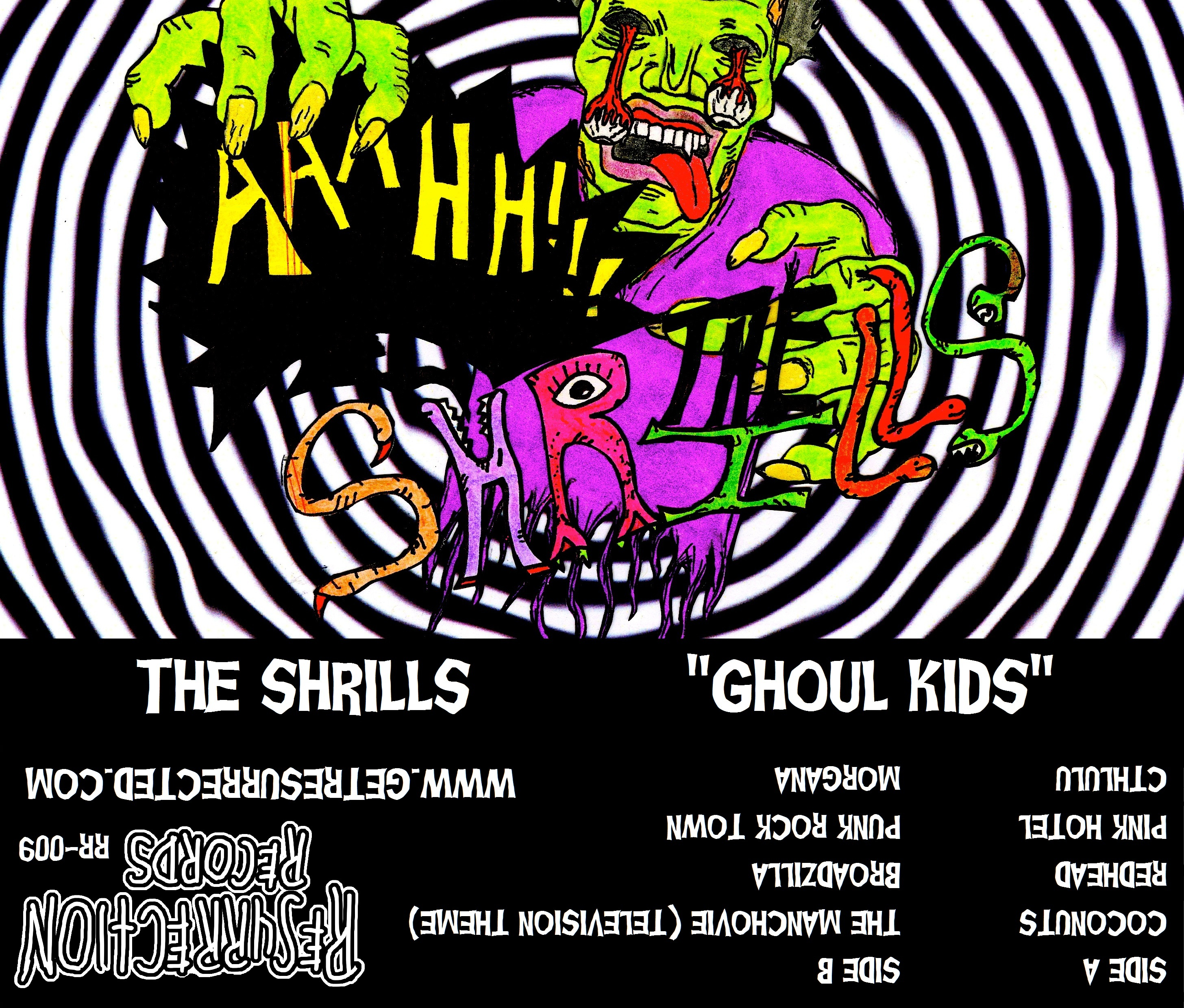 The Shrills- Ghoul Kids Cassette Tape