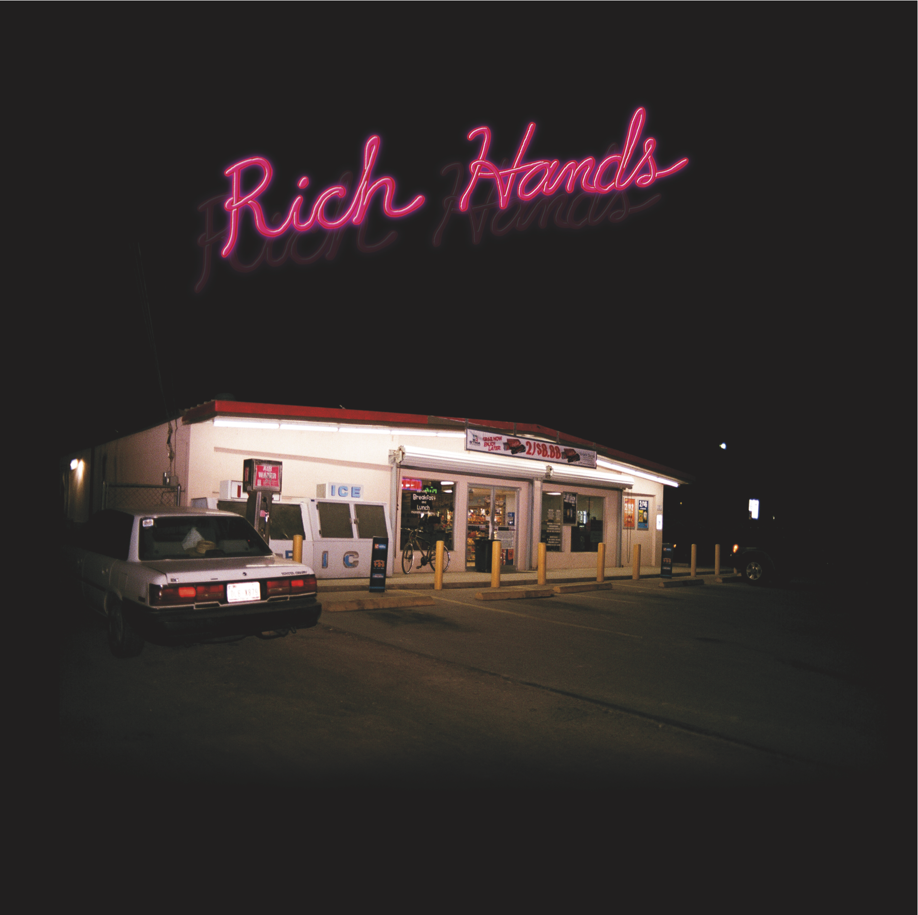 The Rich Hands- Take Care LP [COLOR VINYL] ***NOW SHIPPING***
