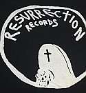 Resurrection Records Tombstone Tote Bag