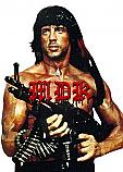"""MDK- Rambo 1.5"""" Button"""