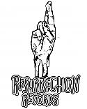"""Resurrection Records 2.25"""" Button - """"Resurrection"""" Logo"""