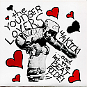 """The Younger Lovers- 4/4 Kick! ... and let the BEAT RIDE! 7"""" *CLEAR VINYL*"""