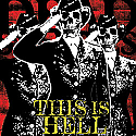 This is Hell- S/T LP  ~~ ONE SIDED / LASER ETCHED VINYL!