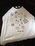 "Doctor Nod ""Faces"" Baseball T Shirt *Size XL*"