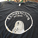 Resurrection Records Tombstone T-Shirt [VARIOUS COLORS]