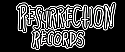 "Resurrection Records 1"" Button - ""Inverted Resurrection"" Logo"