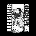 """Backslider / Chainsaw to the Face Split 7""""  ~~ GREEN VINYL"""