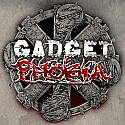 Gadget / Phobia Split LP    ~~    STILL SEALED, GATEFOLD SLEEVE