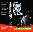 The Meka Leka Hi's- Backyard Time Machine Cassette Tape