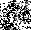Antietem / It's Alive Split 7""