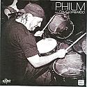 """Philm B/W Dave Lombardo Split 7""""  ~~  BLUE VINYL"""