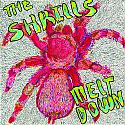 The Shrills- Meltdown LP  **BROWN MARBLE VINYL**