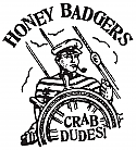 Honey Badgers- Crab Dudes 7""