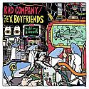 Rad Company / Ex Boyfriends Hold My Glasses Split LP ~~ CLEAR VINYL