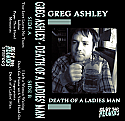 Greg Ashley- Death Of A Ladies' Man Cassette Tape